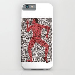 Into 84 after Keith Haring iPhone Case