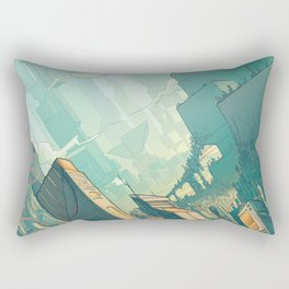 leveL - The Sprawl Rectangular Pillow