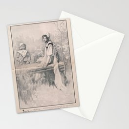 Henry James' The Turn of the Screw (1898) - On the Stone Slab Stationery Cards