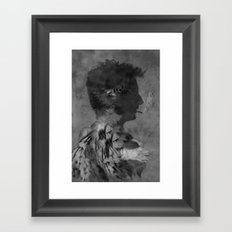 A tribute to Alain Bashung Framed Art Print