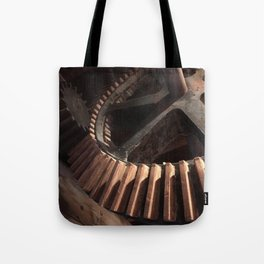 Grist Mill Gears Tote Bag