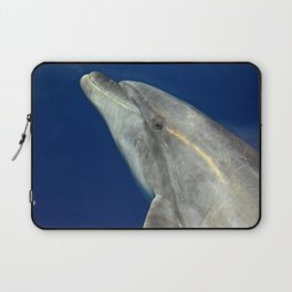 Bottlenose dolphin portrait Laptop Sleeve