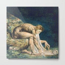 "William Blake ""Newton"" Metal Print"