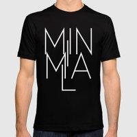 Minimal Milan /// www.pencilmeinstationery.com MEDIUM Black Mens Fitted Tee