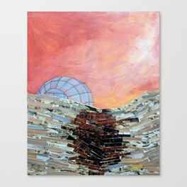 This Must Be The Place (Glass Igloo) Canvas Print
