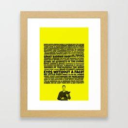 The Middleman Framed Art Print