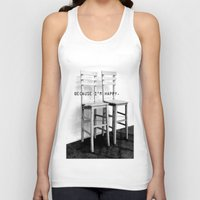 be happy Tank Tops featuring happy by habish
