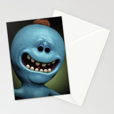 Mr Meeseeks Stationery Cards