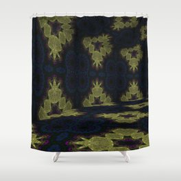 Iconic Hollows 10 Shower Curtain