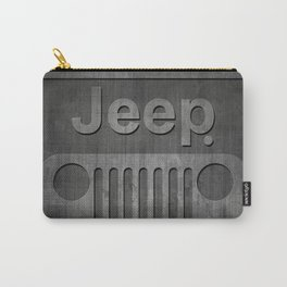 Black Jeep Carry-All Pouch
