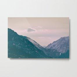 Across the Valleys Metal Print