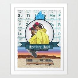 Heisenberg and company Art Print