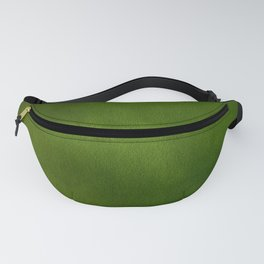 Green Color Velvet Fanny Pack