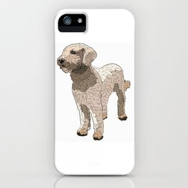Labradoodle iPhone Case