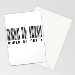 Queen of Petty Stationery Cards