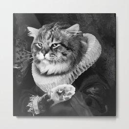 LORD CAT Metal Print