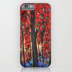 Autumn Trees Slim Case iPhone 6s