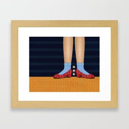 Dorothy Framed Art Print