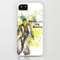 Doctor Who 10th Doctor David Tennant iPhone (5, 5s) Slim Case