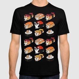 Sushi  Corgi T-shirt