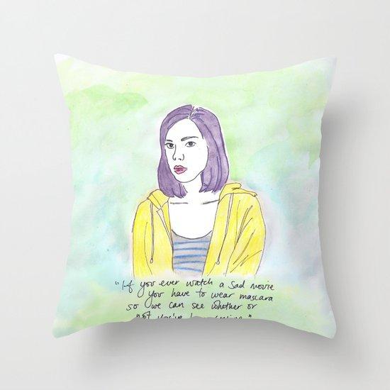 April Ludgate Throw Pillow
