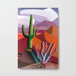 Black Canyon Desert Metal Print