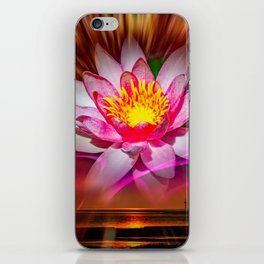 Wellness - Water Lily iPhone Skin