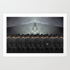 An Honest Man Art Print