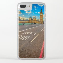 Big Ben Westminster Clear iPhone Case