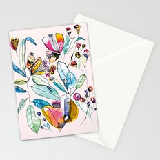 Flowers in the Wind Stationery Cards