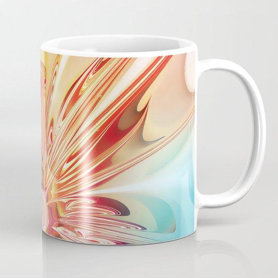 Splendid Fractal Flower Mug