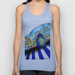Diversity Colors Car Unisex Tank Top