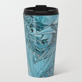 Blue Bird Aoi  Travel Mug