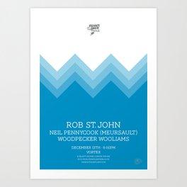 Rob Saint John Art Print