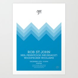 Rob Saint John Art Print