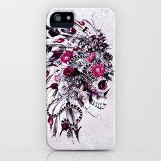 Skull Red Slim Case iPhone (5, 5s)