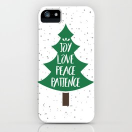 Tree of Christmas Present iPhone Case