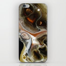 Janus - God of Beginnings, transitions, and duality - Original Abstract Painting iPhone Skin