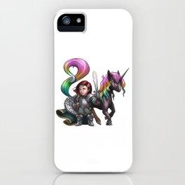 Aurelia The Crusader iPhone Case