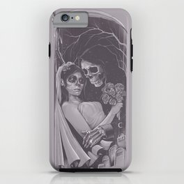 Death Won't Do Us Part iPhone Case
