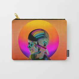 Android with a movie camera Carry-All Pouch