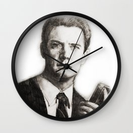 TWIN PEAKS - AGENT COOPER Wall Clock