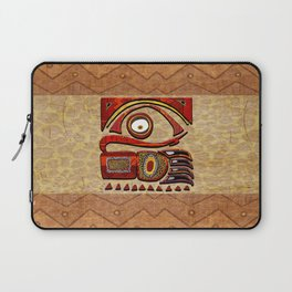 Chu Mtu African Folk Art Laptop Sleeve