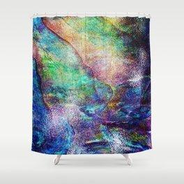 Mermaid Sea Ocean Shell Shower Curtain