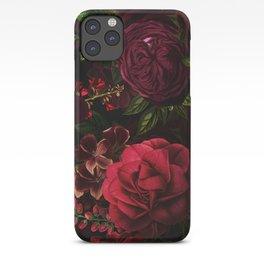 Vintage & Shabby Chic - Vintage & Shabby Chic - Mystical Night Roses iPhone Case