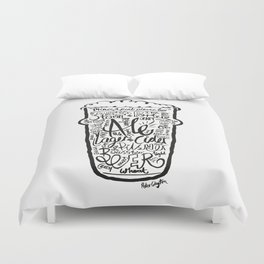 For the Love of Beer Duvet Cover