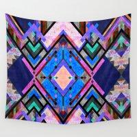 tarot Wall Tapestries featuring Tarot 1A by Schatzi Brown