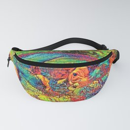AnimalColor_Hippo_003_by_JAMColors Fanny Pack
