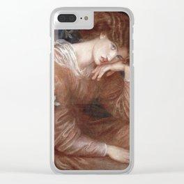 Dante Gabriel Rossetti - Reverie Clear iPhone Case