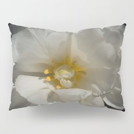 Double White Tulip by Teresa Thompson Pillow Sham